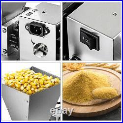 Electric Grain Mill Barley Grinder Malt Crusher Grain Mill Homebrew 4L Hopper