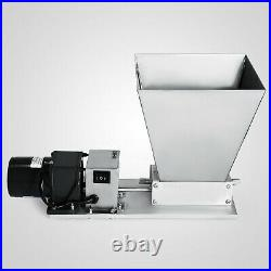 Electric Grain Mill Barley Grinder Malt Crusher Home Brew Mill Stainless steel