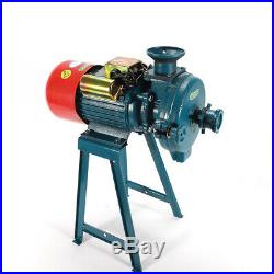 Electric Grinder Animal Poultry Feed Mill Wheat Machine Stainless Steel Funnel