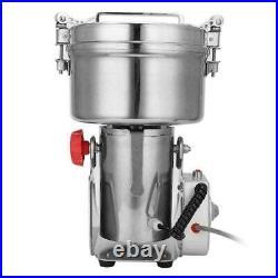 Food Grinder 2000g Grains Spices Hebals Cereals Coffee Dry Mill Grinding Machine