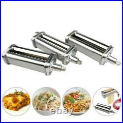 Food Meat Grinder & Pasta Roller Cutter Attachment for KitchenAid Stand Mixer US