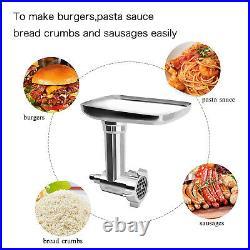 For Kitchenaid Stand Mixer Accessories Pasta Roller Meat Grinder Attachment Set