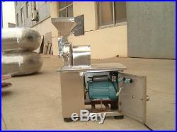 Hammer Mill Grain Grinder Universal Pulverizer Bean Grinding Machine