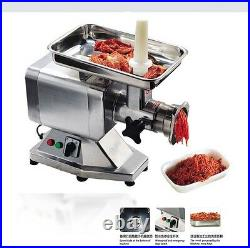Heavy Duty Commercial Stainless Steel 1.5HP Electric Meat Grinder No#22 ETL/NSF