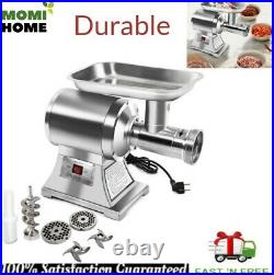 Heavy Duty Electric Meat Grinder Pusher Industrial Commercial Stainless Steel