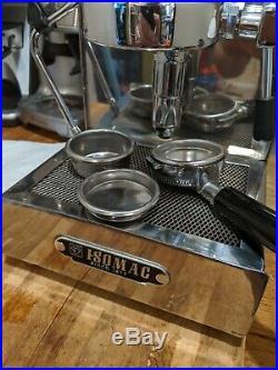 Isomac Zaffiro Italian Espresso Machine and Breville Grinder Combo