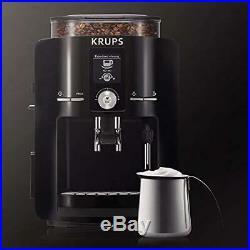 KRUPS EA8250 Fully Auto Espresso Machine, Maker, Burr Grinder, 60