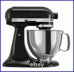 KitchenAid Artisan 325 W, 5-Quart Bowl, 10-Speed Metal Food Stand Mixer, Grinder