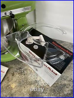 KitchenAid Artisan 5-Quart 325W Stand Mixer 10 Speed Green Apple & Food Grinder