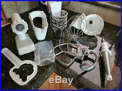 KitchenAid Professional 600 Bowl lift Stand Mixer 6 QT plus lots of attachments