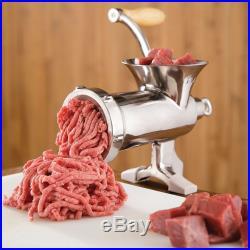 LEM #10 Hand-Crank Meat Grinder