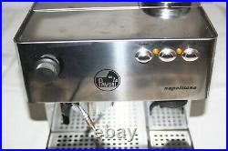 La Pavoni Napolitana Espresso/Cappuccino/Latte Machine w BUILT-IN GRINDER
