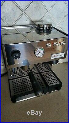 La Pavoni Napolitana Espresso Machine PA-1200. With built-in Grinder. Mint Cond