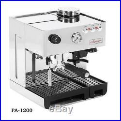 La Pavoni Napolitana Espresso, cappuccino, Latte machine with built in Grinder