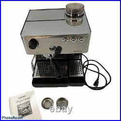 La Pavoni Napolitana espresso machine PA-1200 built in grinder