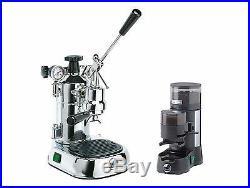 La Pavoni PL Professional Espresso / Cappuccino Machine & JDL Grinder Combo Set