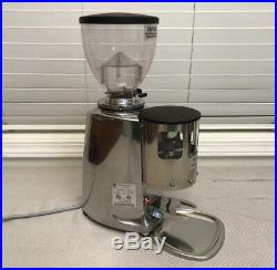 MAZZER Mini Timer Burr Coffee Grinder Stainless Steel For Rocket Espresso CLEAN