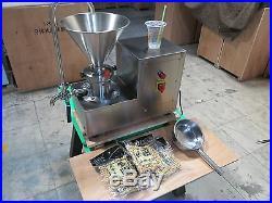 MC50 USA 110 Volt Grinding, peanut butter grinder colloid mill machine 1500 watt