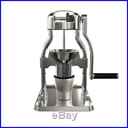 Manual Burr Coffee Grinder Stainless Steel Aluminum Portable Adjustable Durable