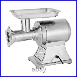 Meat Grinder Commercial Electric Sausage Stuffing Maker Stainless Steel