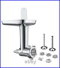 Meat Grinder Food Chopper Attachment for Kitchenaid Stand Mixer Stainless Steel