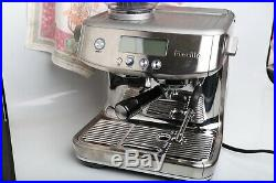 NEW Breville BES878 the Barista Pro Espresso Machine With Grinder BES878BSS