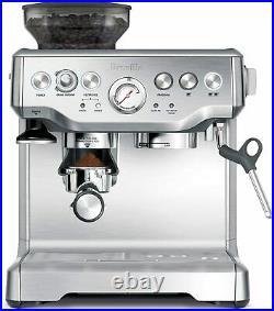 NIB Breville BES870XL Barista Express Automatic Espresso Machine Grinder