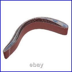 New Grinder Pipe &Tube Belt Sander Attachment Stainless Steel Metal Wood Sanding