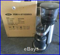 OXO BREW Conical Burr Coffee Grinder with Integrated Scale (used)