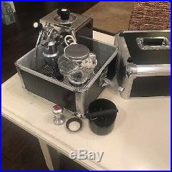 Olympia Cremina Manual Lever Espresso Machine 67 Stainless Brown withGrinder