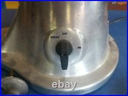 Omcan Commercial Heavy Duty Stainless Steel Meat Grinder