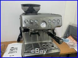Original Breville BES870XL Barista Express Automatic Espresso Machine Grinder
