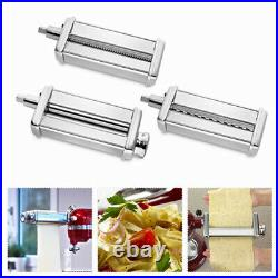 Pasta Roller Cutter Maker & Meat Grinder Attachment For KitchenAid Stand Mixer