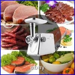 Potente Moledora De Carne Molino Electrico Limpieza Facil MultiProposito