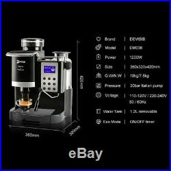 Professional Automatic Coffee Machine Americano With Bean Grinder And Milk Steam
