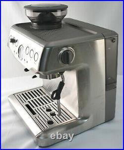READ ALL! Breville BES870XL Barista Express Auto Espresso Maker Built-in Grinder