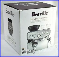 READ Breville BES870XL Barista Express Auto Espresso Maker with Built-in Grinder