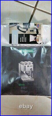 Rancilio Miss Silvia Espresso Machine & Rocky doserless Grinder with Base