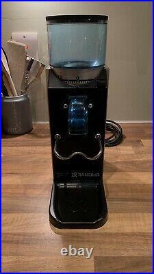 Rancilio Rocky Doserless Espresso Coffee Machine Grinder 2014 New Burr set