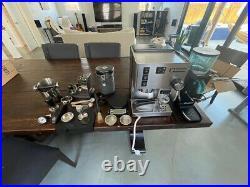 Rancilio Silvia + PID espresso maker, Rocky Doserless Grinder + LOTS of extras