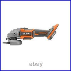 Ridgid Angle Grinder Tool Only Octane Ergonomic Cordless Brushless 18V 4-1/2 in