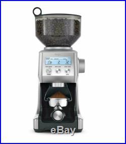 SAGE BCG820BSSUK Smart Grinder Pro Coffee Grinder Silver