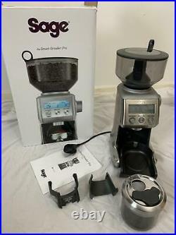 SAGE Smart Grinder Pro Espresso Beans Electric Coffee Grinder LCD Display