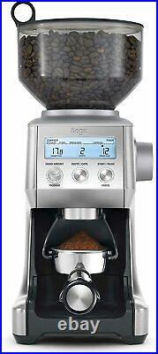 Sage BCG820BSSUK the Smart Grinder Pro Coffee Grinder, Silver