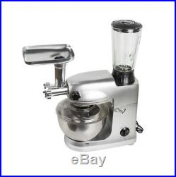 Stand Mixer 5L 1000W Powerful Motor Kneading Bread Dough Meat Grinder Kitchen US