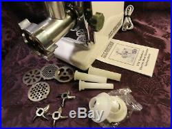 Stx 3000-tf Series International Tubo Force Electric Meat Grinder Complete