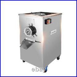 Top Grade 220V 2.2KW 304 SS Commercial/Home Meat Grinder Bone Crusher 400kg/h
