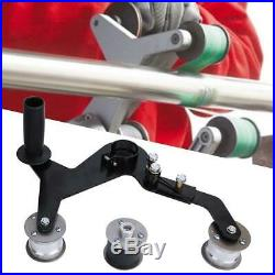 Tube Belt Sander Stainless Steel Pipe Polisher Grinder Polishing Sanding Machine