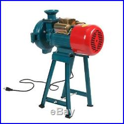 Upgrade Electric Dry Herb Mill Grinder Machine for Corn Grain Wheat Flour Funnel