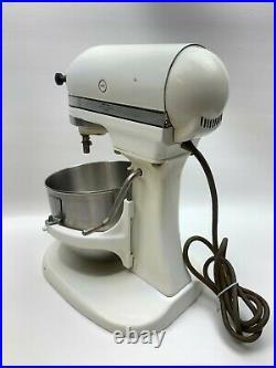 Vintage Hobart Kitchen Aid Stand Mixer K5-A 5 Quart 10 Speed With Lift Kitchenaid